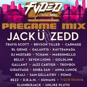 FVDED In The Park 2016 PREGAME Mix