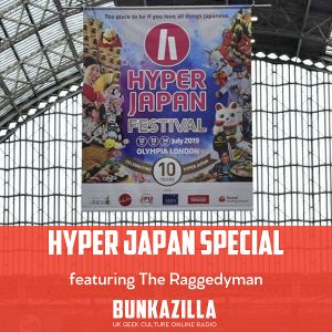 Hyper Japan Friday with Raggedyman