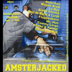 Sista Stroke Live at ADE 2012