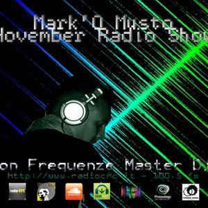 Podcast #011 Mark'O Musto November Radio Show on Frequenze Master Dj 10 Nov 12