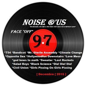 """Noise r'us # 97 """"face off"""" special Nouvelle Zelande (Decembre 2015)"""