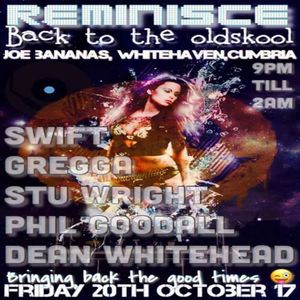 DJ Swift - Reminisce Back To The Oldskool @  JB's Whitehaven Oct 2017