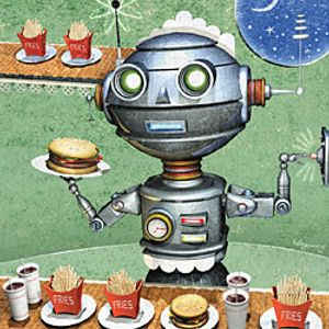 Teaching Robot FOOD Special PART 2