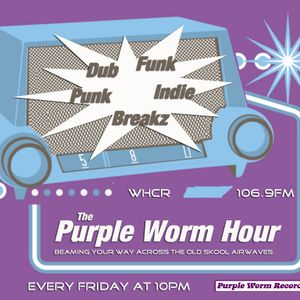 The Purple Worm Hour on WHCR 106.9FM - Broadcast 1/2/13