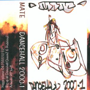 DJ Mate Dancehall 2000 Vol 1 Spring side
