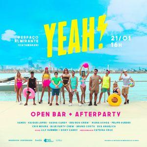 YEAH! Open bar + Aftter 21/01