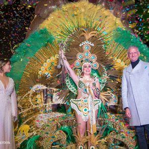 Radio Antena de Canarias con MCC El Trompo y la Reina del Carnaval de La Orotava