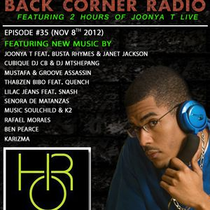 BACK CORNER RADIO: Episode #35 (Nov 8th 2012)