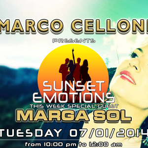 SUNSET EMOTIONS 69.4 (07/01/2014) - Special Guest MARGA SOL