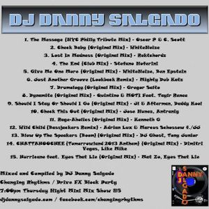Drive FX 7:00pm Thursday Night Thanksgiving 2013 Mix #7 Mixed and Compiled by DJ Danny Salgado