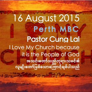 I Love My Church Because It Is The People Of God