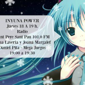 INYUNA POWER Día 16 Marzo 2017  Programa nº.157