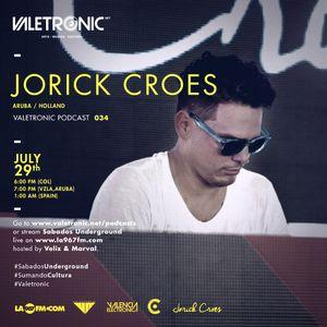 Valetronic Podcast 034 // Jorick Croes