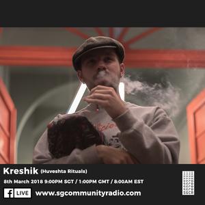 SGCR Radio Show #43 - 08.03.2018 Episode ft. Kreshik (Huveshta Rituals)