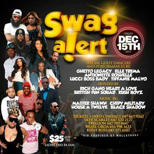 SWAGG ALERT - DEC 15TH