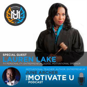 Motivate U! with June Archer Feat. Lauren Lake