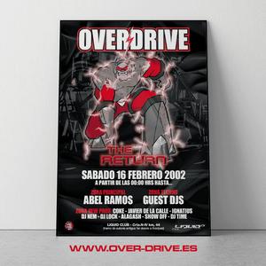 Abel Ramos @ Overdrive Liquid Parte 4 (16-02-2002) (4'15-5'15)