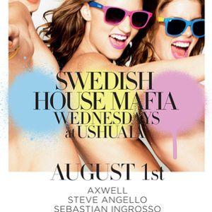 Steve Angello - Live @ Swedish House Mafia Wednesdays, Ushuaia, Ibiza, Espanha (01.08.2012)