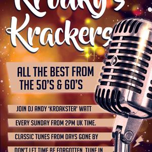 Kroaksters 50's & 60's Krackers With Andy Watt - June 07 2020 www.fantasyradio.stream