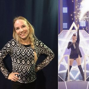 Viihteellä 10.5.2018: X Factorissa toiseksi tullut Hanna-Maaria Tuomela ja euroviisuasiantuntija