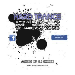 DJ Darbo - Hard Trance Set 25-12-04