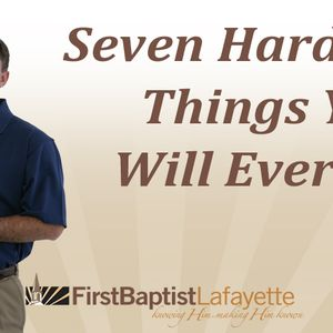 SEVEN HARDEST THINGS YOU WILL EVER DO - Be Patient While Praying  (Audio)