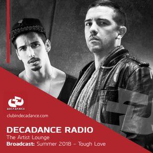 The Decadance Artist Lounge - Tough Love - 2018