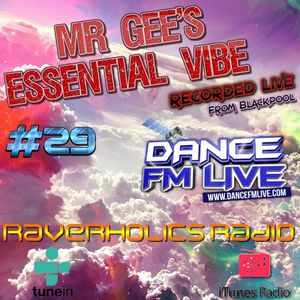 Mr Gee`s Essential Vibe Show - No #29 - LIVE From Blackpool - Playback 6th July 2017