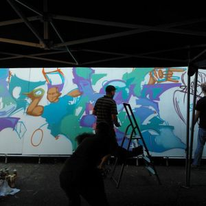 18/08/12: Graff Alive with DJ Food, Pure Evil & Stussy