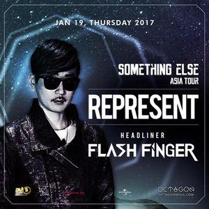 FLASH FINGER DJ Live From SomethingElse Asia Tour, Octagon, Seoul, Korea 19th Jan 2017