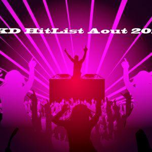 DJ DKD HitListe Aout 2013