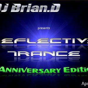 DJ Brian.D - Reflective Trance 014 April 2010 (1st Anniversary Edition Part 1)