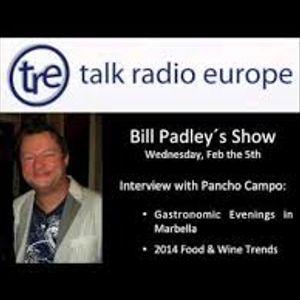 David Hamilton talks to Bill Padley on Talkradio Europe 27th July 2017