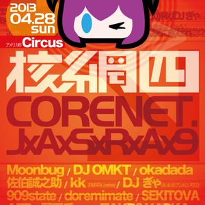 Live Set @ CORENET 2013-04-28