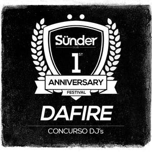 Dafire @ Concurso Aniversario Sünder Club
