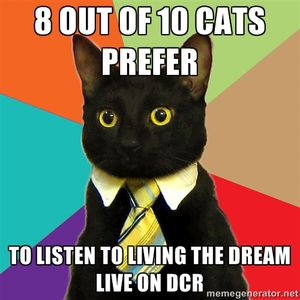 Living The Dream Live on DCR 23rd May 2013 with Elliot Shore