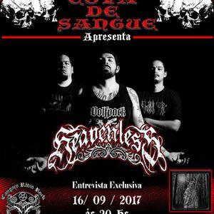 Programa Cova de Sangue - #30 - Entrevista com a banda Heavenless (16.09.2017)