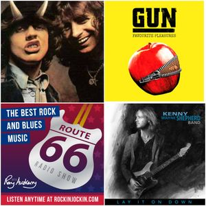 Route 66 Rock & Blues Radio Show (09/07/17) NEW Kenny Wayne Shepherd & Gun tracks