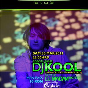 MADAN - WARMUP 4 DJ KOOL @ ARENA CLUB [ SET CUT PART 1 ] 30.03.2013