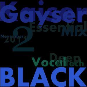 'Black 2' Kaiser Gayser Essential Mix November 2011