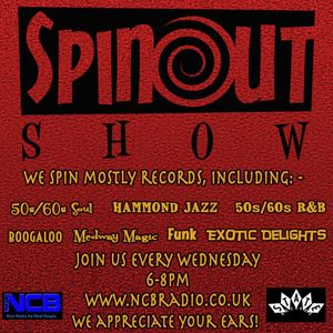 The Spinout Show 19/06/19 - Episode 181 with Dave Grimshaw