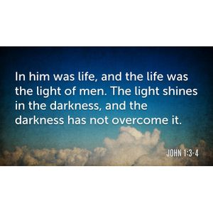 Christ the Light. The Life.