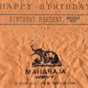 Kanazawa Disco Club 'MAHARAJA WEST' Birthday Present tape