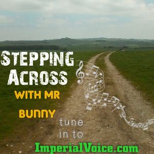 Stepping Across Live on A Monday- Rophnan Speaks