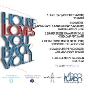 House Loves You Back Vol 1