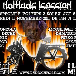 """Psypod Dj Set @ Nomads Session spéciale """"Voleurs de Solex"""" #5 2011 11 11"""