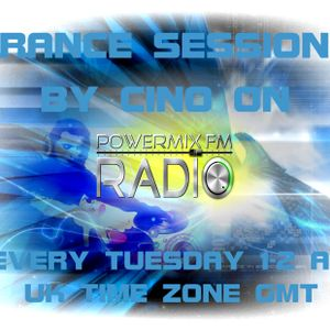 Trance Sessions by Cino on PowerMixFMRadio June 2013