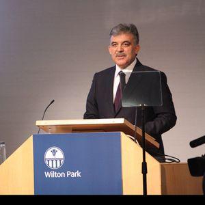 President Gül of Turkey: speech at Wilton Park's inaugural address
