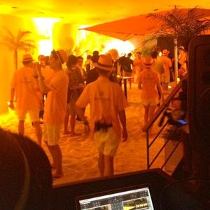 Yellow Summer Beach House Mix Part 2 @ Veuve Clicquot Summer Villa Omotesando July 2012