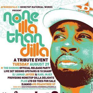 """DJ Jamad  Afromentals """"Dilla Tribute 2007"""" OHC"""